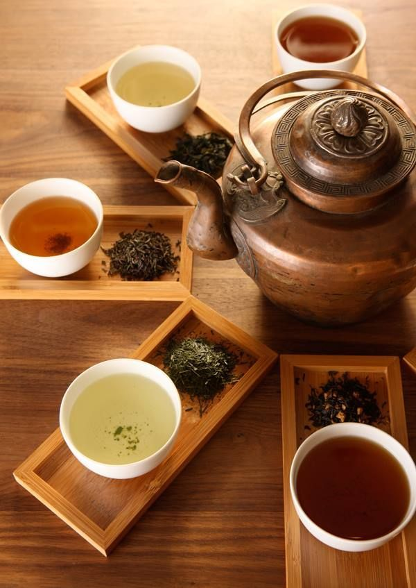 Tea Rituals. Could use this idea for displaying blends