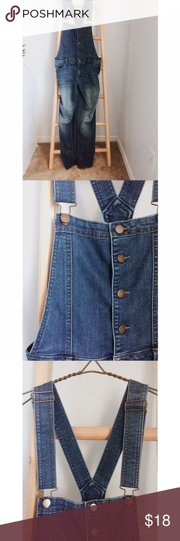 Blue jean overalls Fire Los Angeles Blue jean overalls by Fire Los Angeles. Well loved item, though no physical signs of wear. Size L. Fire Los Angeles Jeans Overalls