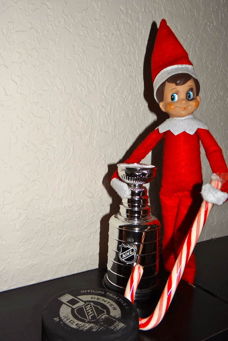 Goobie is unfazed by the NHL lockout, thanks to his years as an EHL (Elfen Hockey League) Power Forward!