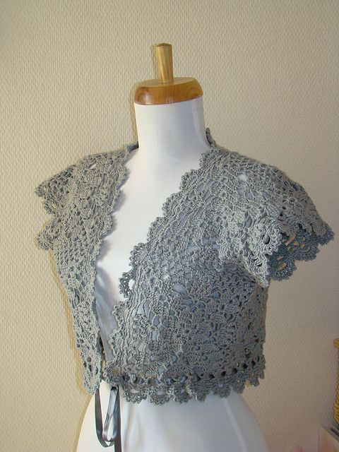 345 best images about Crocheted Sweaters, Vests, and ...