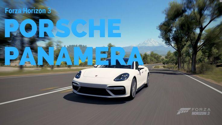 Forza Horizon 3 PC   NEW Porsche Panamera Turbo!   Drive test