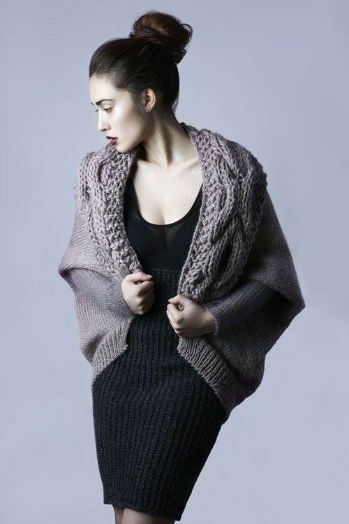 Amy Hall's amazing knitwear
