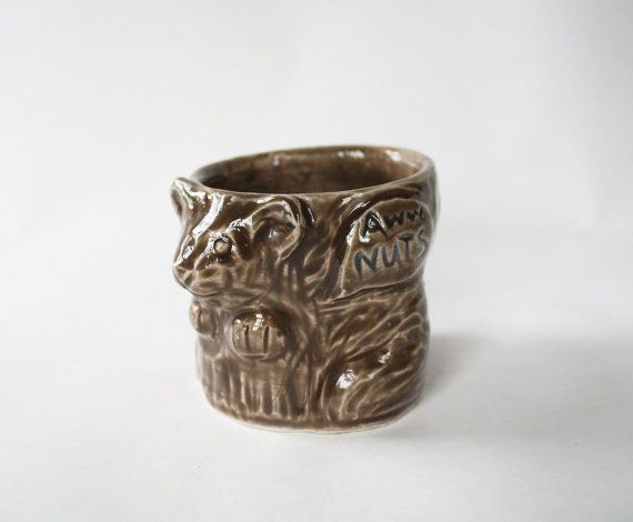 Freaking hysterical! This should be here at the Nut House... ha ha ha  Awww Nuts Squirrel Shot Glass http://www.etsy.com/listing/153771161/awww-nuts-squirrel-shot-glass?ref=col_view