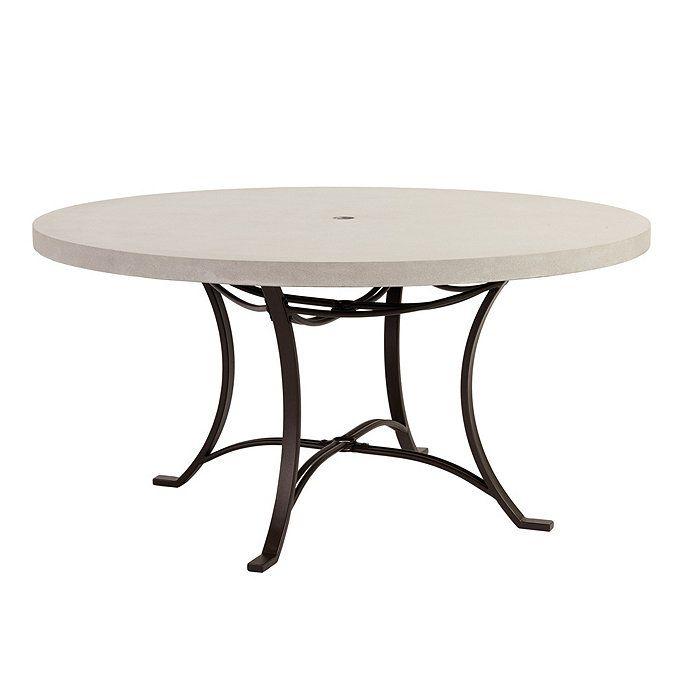 "Bunny Williams La Colina 60"" Round Dining Table | Ballard Designs"