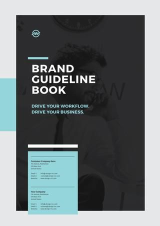 Brand Manual and Guideline Book  The Big Brand Manual and Corporate Design Guideline  Download here: https://crmrkt.com/ymGzm  28 Pages with REAL TEXT  This corporate design manual will come in two sizes. You will get this in A4 and US Letter size. You will get full layered templates with paragraph and text styles. This is a grid based layout for easy editing. Everything is included except the images.  FORMAT AND SIZES      A4 size : 210 x 297 mm     US Letter : 8.5 x 11 inch  FEATURES      only