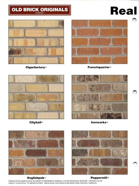 1000 Ideas About Thin Brick On Pinterest Thin Brick
