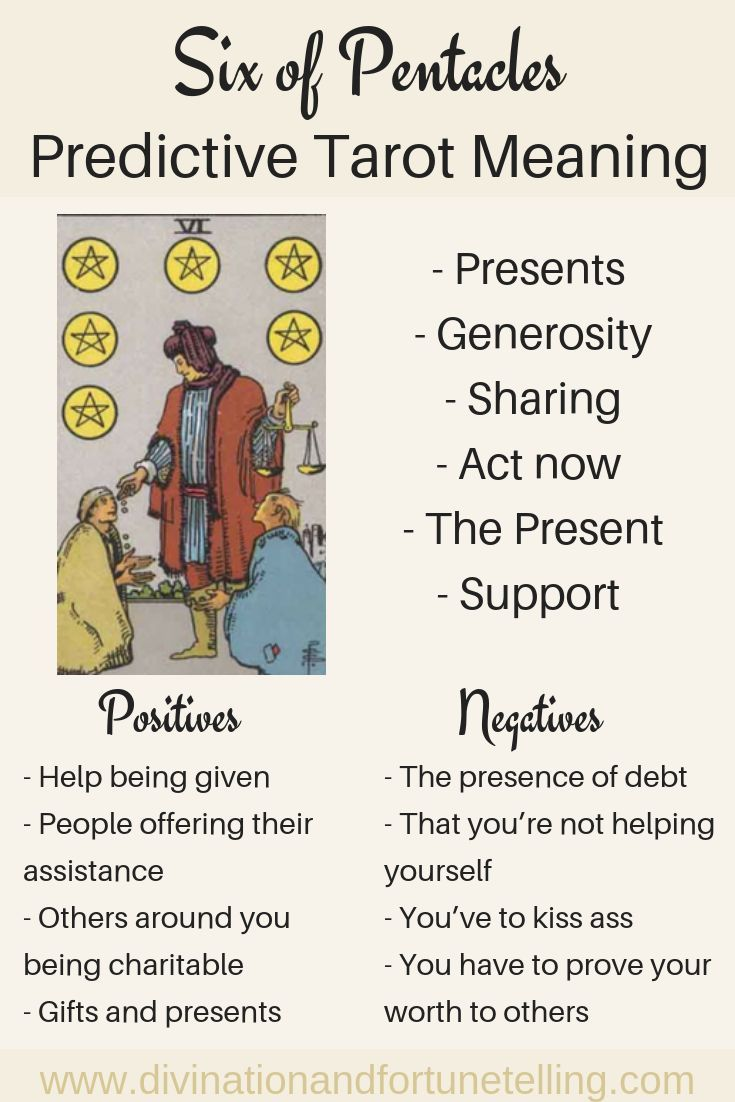 Six Of Pentacles Predictive Tarot Card Meaning Lisa Boswell Tarot Meanings Pentacles Tarot Tarot This is not always the case when you want to deal with the minor arcana which are less popular, or perhaps only less studied. six of pentacles predictive tarot card