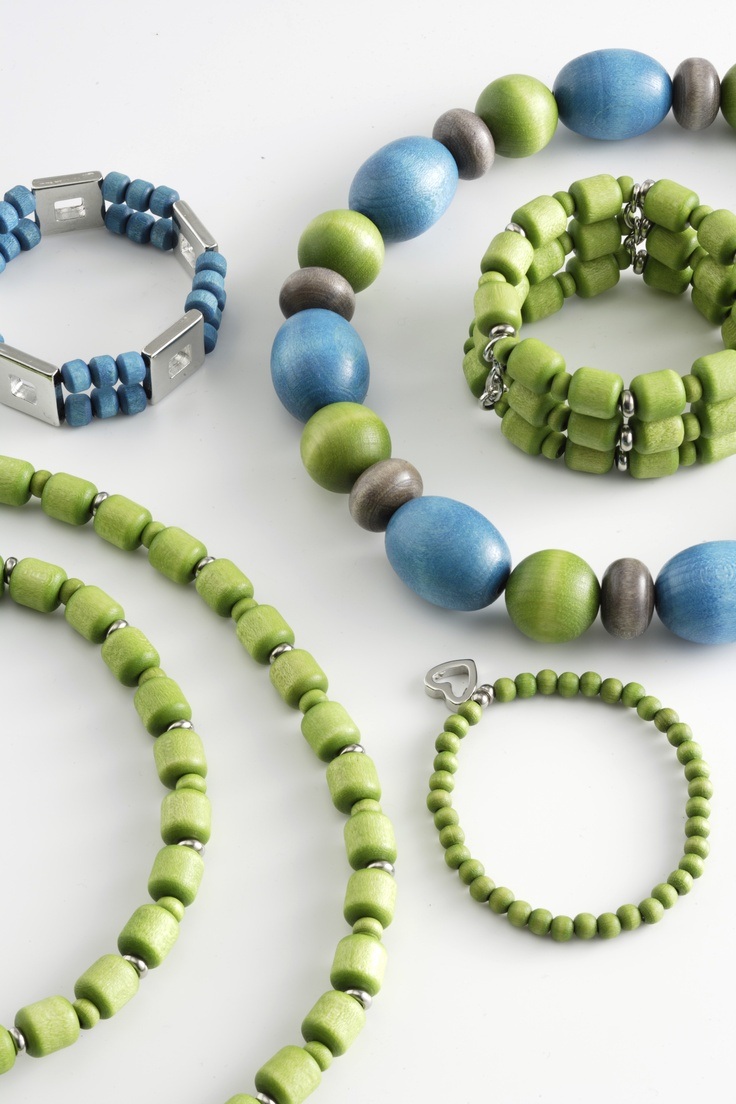 by Aarikka - love the blue and green combination