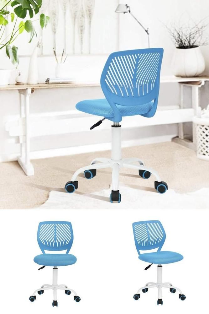 Kids Computer Chair Office Covers Online India Desk Blue Swivel Task Seat Bedroom Study Home Furniture Kidsdeskcomputerchair