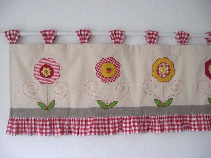 how to make tab top valances