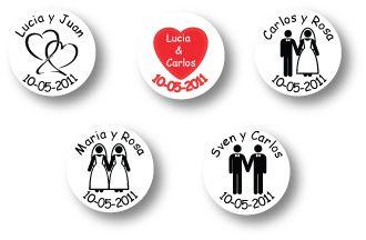 adhesivos personalizados: originales ideas en la web para stickers personalizados de boda http://www.valorizate.cl/stickers-autoadhesivos/stickers_personalizados.html despachamos nuestros adhesivos personalizados a todo Chile