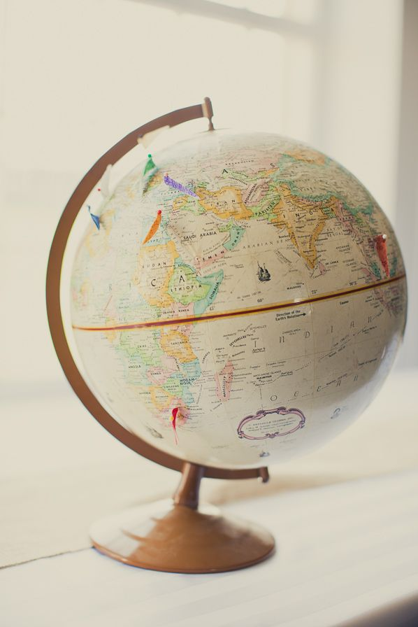 25 best globe images on pinterest globes map globe and maps globe with flags gumiabroncs Choice Image