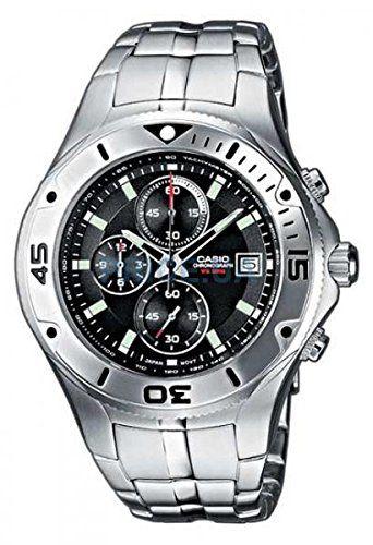 Reloj elegante y de calidad!!! CASIO Collection MTD-1057D-1AVES - Reloj de caballero de cuarzo, correa de acero inoxidable color plata> Precio recomendado: EUR 145,00 Precio: EUR 55,99 & Env...