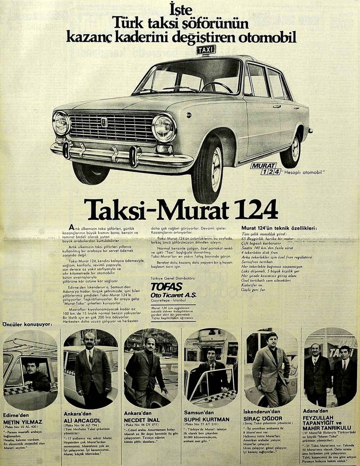 1971 Haci Murat newspaper ad