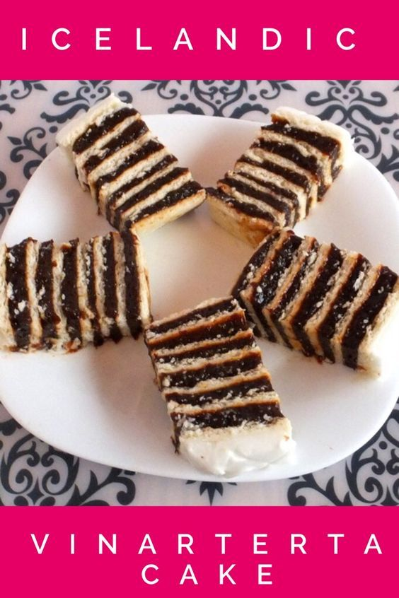 Icelandic Christmas cake. Recipe for Icelandic Vinarterta.