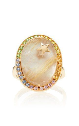 80f4bfead02 Zenith Mother of Pearl Ring by Andrea Fohrman