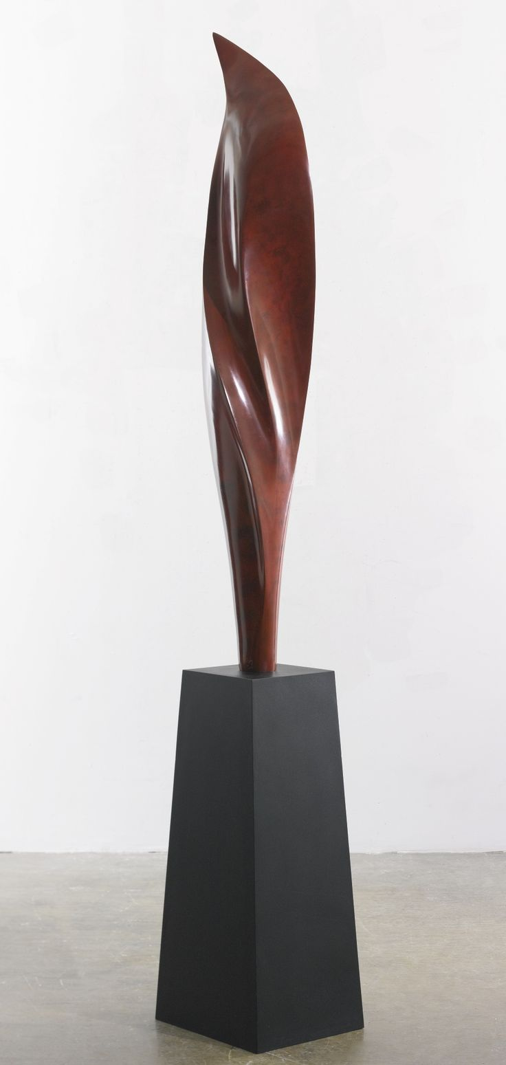 Gustavo Vélez (B. 1975) VOLO ROSSO  inscribed with signature, numbered 1/3 and dated 2012 bronze with unique patina and artist base Height: 89 3/4 in. 228 cm