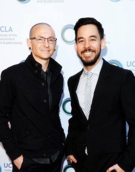 Chester Bennington and Mike Shinoda :)