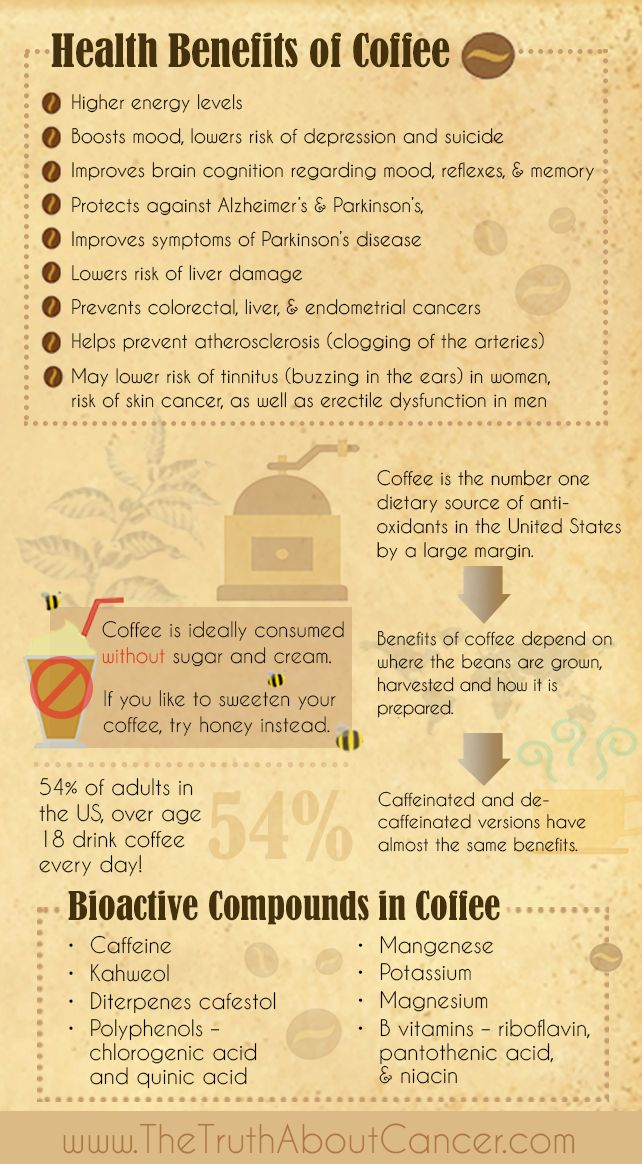 You may have heard some conflicting information about whether coffee is bad or good for you but we're here to tell you there are some great health benefits to it, including fighting cancer! Click on the image to read on or re-pin to save for later!