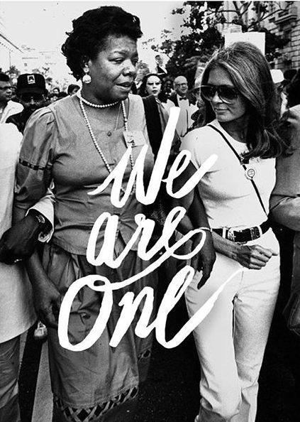 Gloria & Maya #WomensEqualityDay