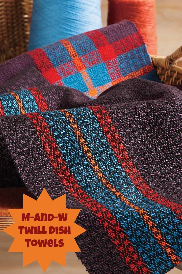 430 best weaving images on pinterest hand weaving web patterns these towels are awesome for learning all about m and w twills on 4 shafts get the pattern as part of this awesome ebook of 12 towel projects fandeluxe Images