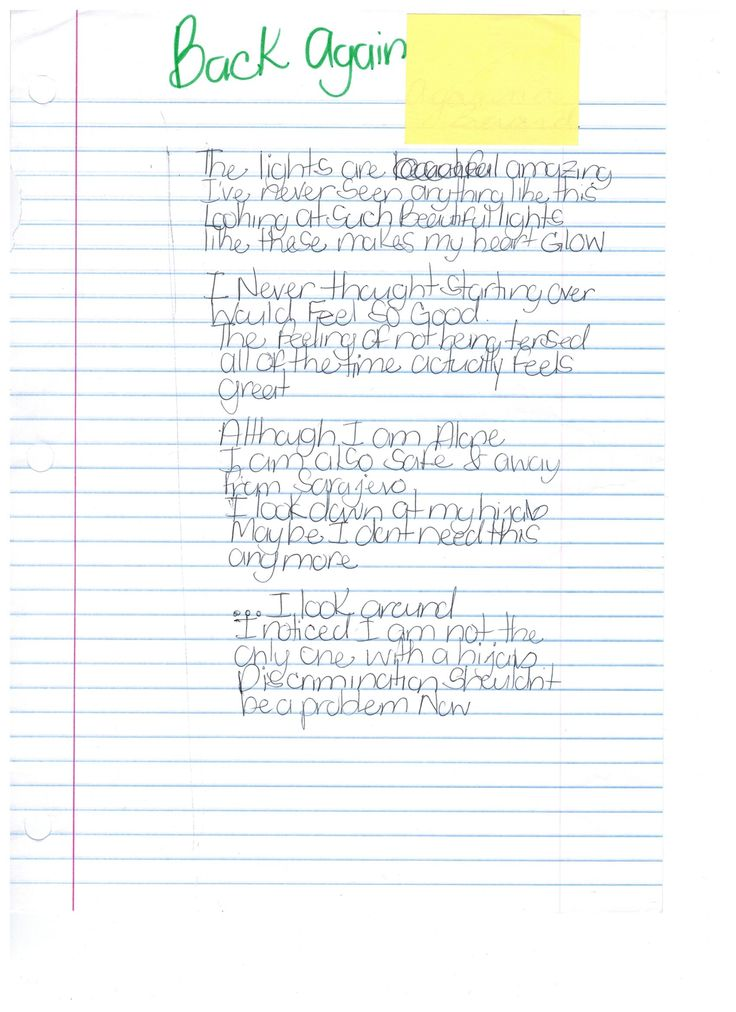teaching points for literary essays