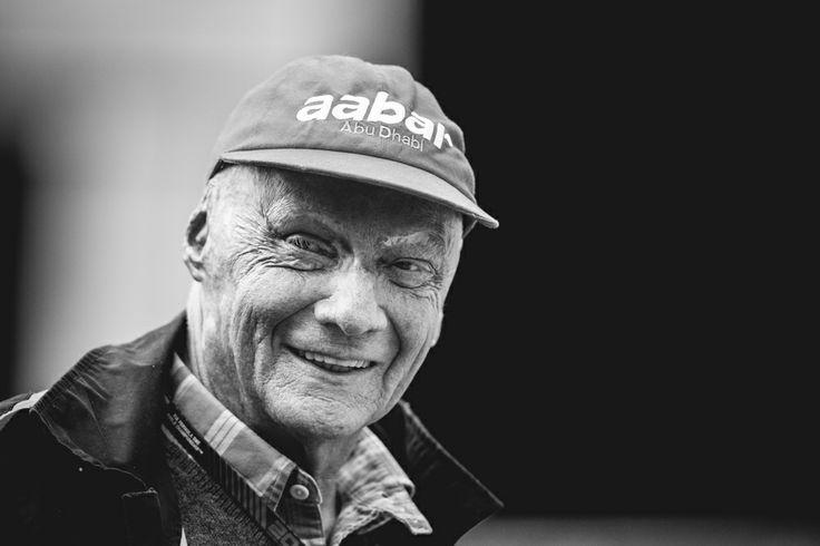 Niki Lauda shot by Paddy McGrath
