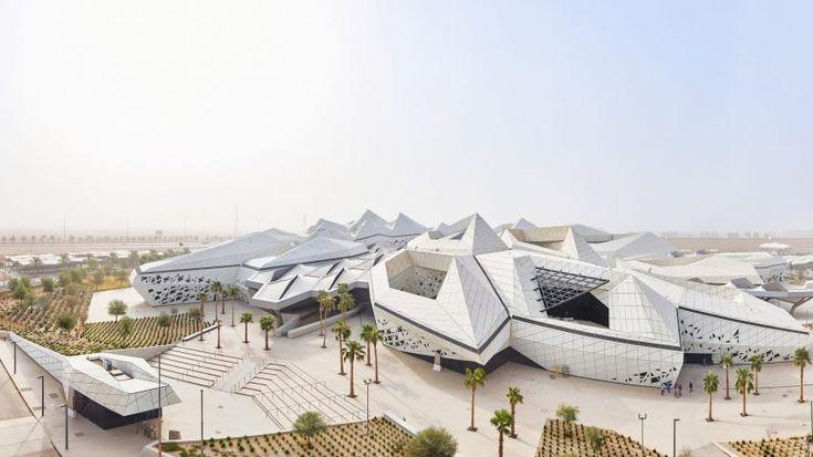 King Abdullah Petroleum Studies & Research Centre, Riyadh, Saudi Arabia, by Zaha Hadid Architects