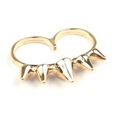 Quin Crown Double Ring, S$ 6.00 from fourtwelve.com.sg