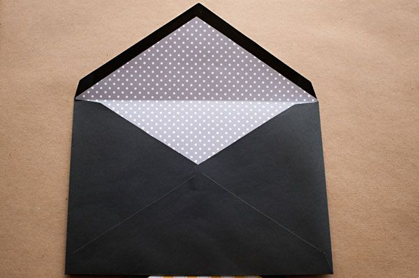 wedding envelope liners - DIY with the Sweetest Occasion