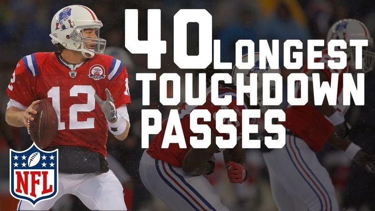 Tom Brady's 40 Longest Touchdown Passes | 🐐 Happy 40th Birthday TB12! 🐐 | NFL Highlights - YouTube