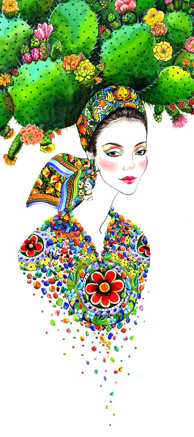 Sunny Gu fashion illustrator
