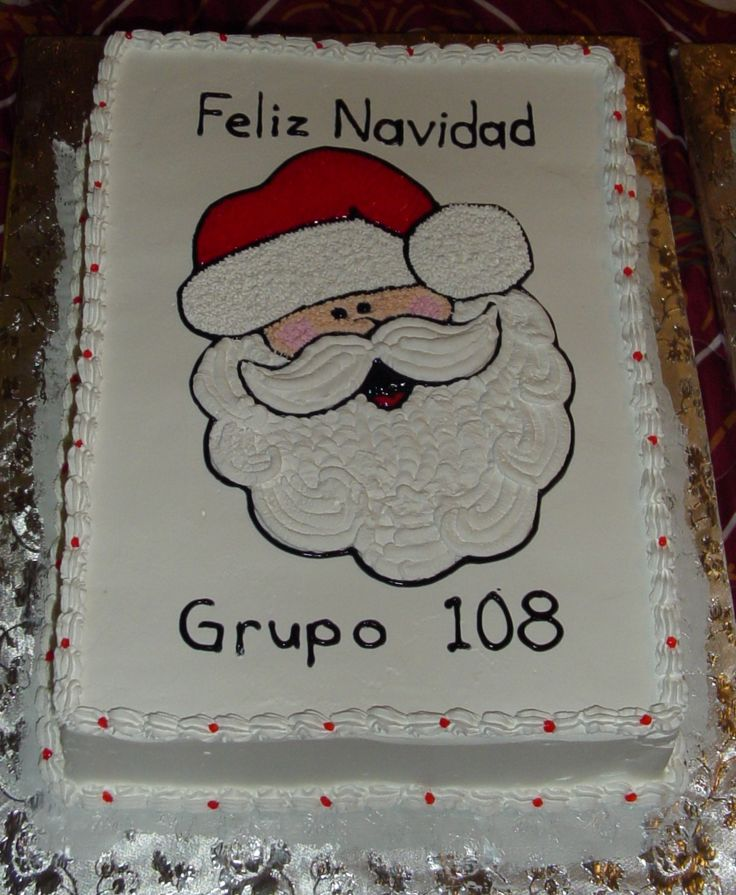 Santa Face Cake Pictures