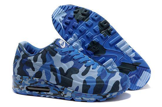 "cheapshoeshub.com 472513-009 Nike Air Max 90 VT Men's ""Navy Camo"" Sale"