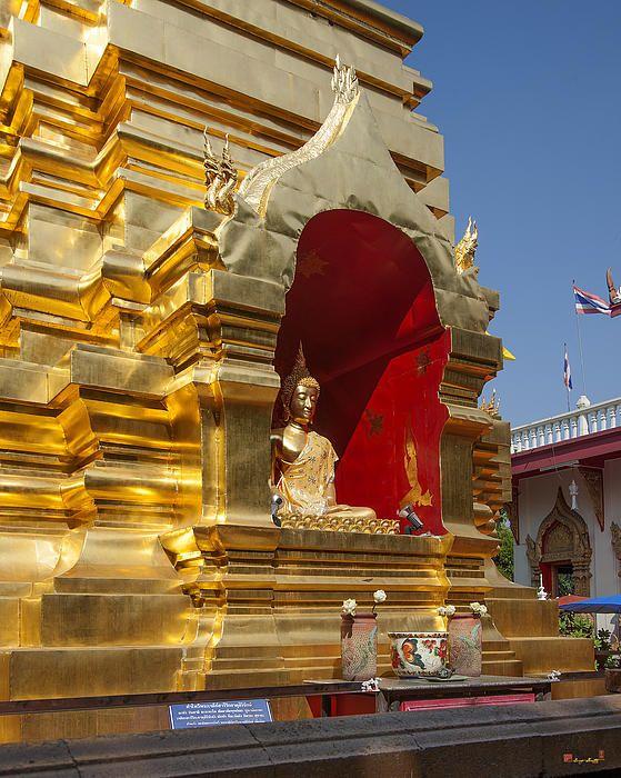 2013 Photograph, Wat Phan On Phra Chedi Sareerikkatartsirirak Buddha, Tambon Phra Sing, Mueang Chiang Mai District, Chiang Mai Province, Thailand. © 2013.  ภาพถ่าย ๒๕๕๖ วัดพันอ้น พระพุทธใน พระเจดีย์สารีริกธาตุสิริรักษ์ ตำบลพระสิงห์ เมืองเชียงใหม่ จังหวัดเชียงใหม่ ประเทศไทย