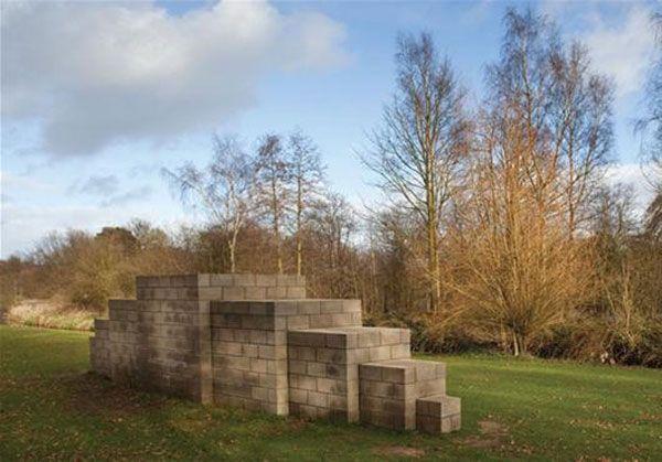 123454321 by Sol LeWitt, 1oo3 _Yorkshire Sculpture Park