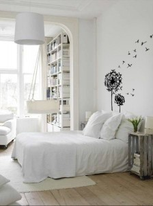 blown away: Decor, Interior Design, Ideas, Dream, Bedroom Design, White Bedrooms, Bedside Tables, House, White Room