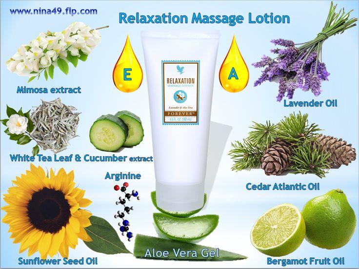 The phenomenal relaxation massage lotion