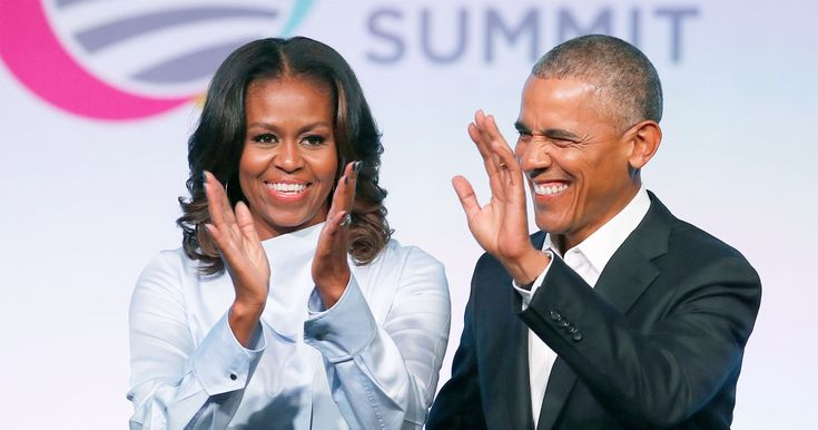 """The nation may have dubbedBarack Obamaa """"silver fox,"""" but his wifeMichelle Obama wasn't one of the people calling him that"""