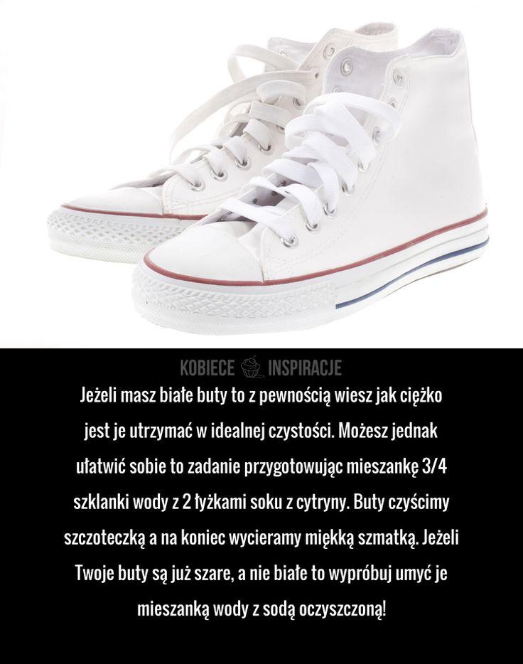 Jak sprawnie wyczyścić białe buty?