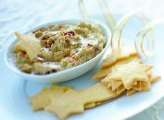Hummus di piselli con cracker al mais - Cucina Naturale