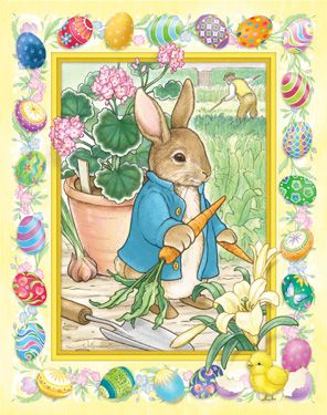 Easter Bunny Countdown Calendar | Easter Countdown | Vermont Christmas Co. VT Holiday Gift Shop