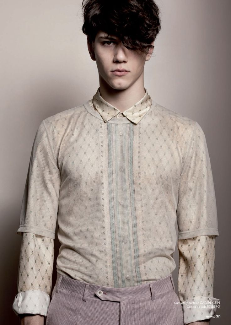 Male model young