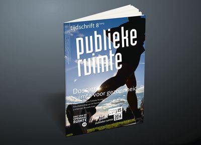 Cover tijdschrift publieke ruimte - Portfolio grafisch ontwerp - Ontwerpbureau Grafische Vormgeving bvba