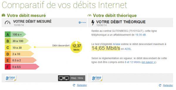 Un comparateur pour vérifier votre vitesse Internet mesurée face au débit théorique optimal