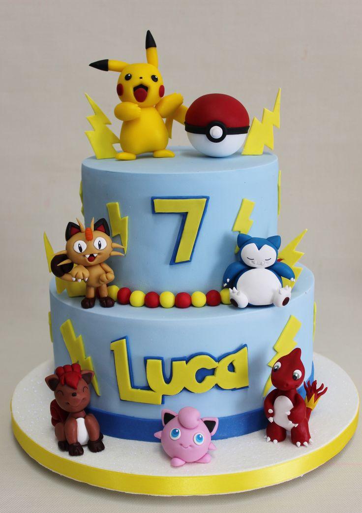 Pokemon Go ! Cake  Violeta Glace