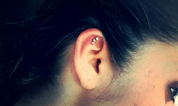 Triple Helix. I love my new peircing but it hurt more than my tattoo on the back of my neck and spine. Costed me $80 for all 3. And i have 3 tattoos my belly button pierced my nose and 3 lobe piercings. Just got my triple helix 2 days ago!