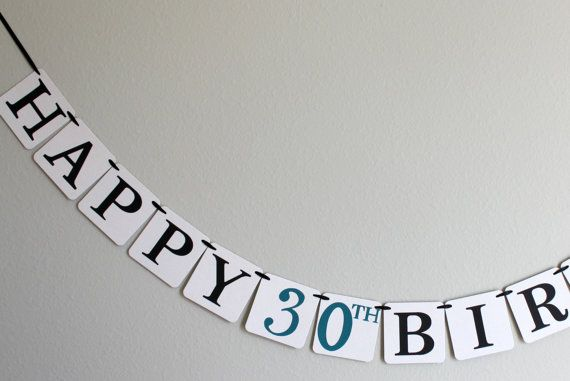 custom birthday banner  birthday decorations  by breelyseandco, $18.00
