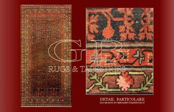 antique khotan rug:
