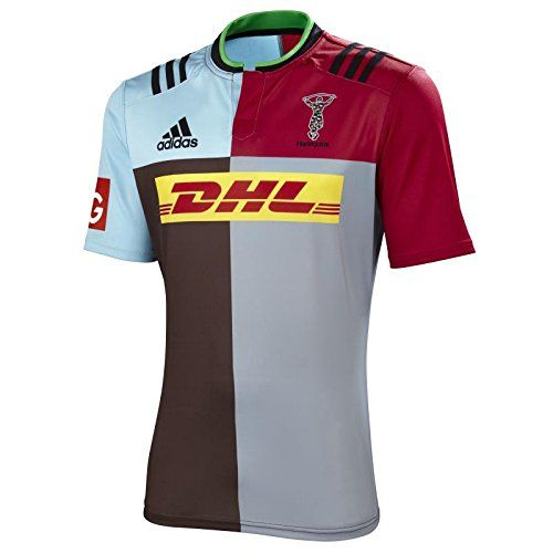 adidas Harlequins 2015/16 Home S/S Replica Rugby Shirt - size L No description (Barcode EAN = 4055014910599). http://www.comparestoreprices.co.uk/december-2016-5/adidas-harlequins-2015-16-home-s-s-replica-rugby-shirt--size-l.asp